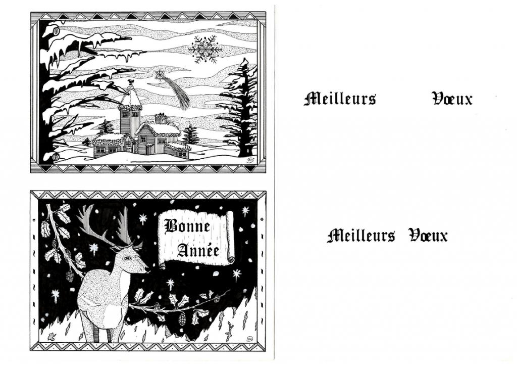 Cartes de voeux 1992-1