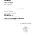 JPM CONSEIL-NAZCA-Certificat de Travail